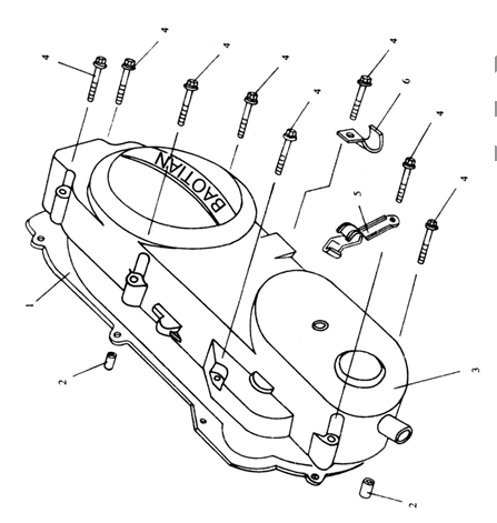 Boat Steering Kits additionally Quicksilver Boat Control Parts furthermore 3 0 Mercruiser Engine Parts Diagram additionally Plastic Wiring Harness as well 14508 Fuel Line Replacement. on boat throttle wiring diagram