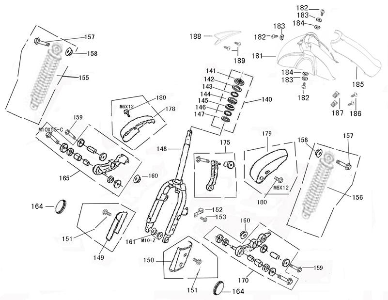 microfiche cmpo chinese motorcycle parts online Suzuki CDI Diagram bottom yoke