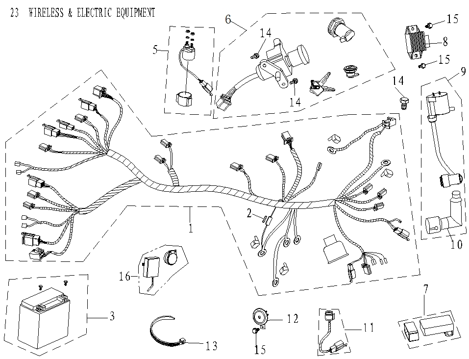 chinese motorcycle wiring diagram microfiche cmpo chinese motorcycle parts online  microfiche cmpo chinese motorcycle