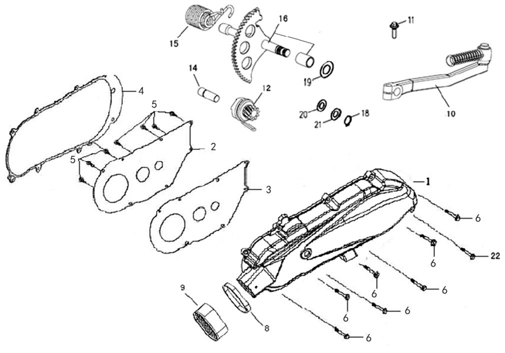 Gy6 139qmb Carburetor Parts Diagram