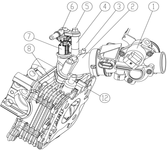 basic parts of motorcycle engines