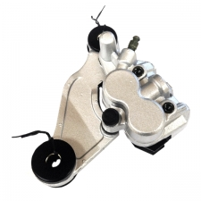 Silver Front Brake Caliper Twin Pot