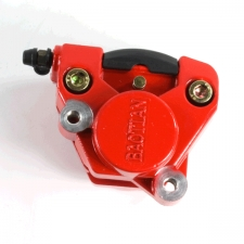 Red Front Brake Caliper Single Pot for BT49QT-20BB, BT49QT-20CA, BT49QT-28A