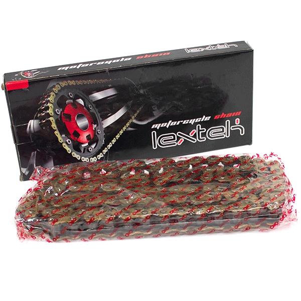 Lextek Chain/Sprocket Kit for CG125 Japan