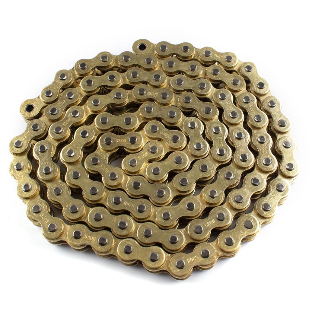 Heavy Duty Chain /& Sprockets Set GOLD for  Lexmoto ZSX 125 ZS125-48E