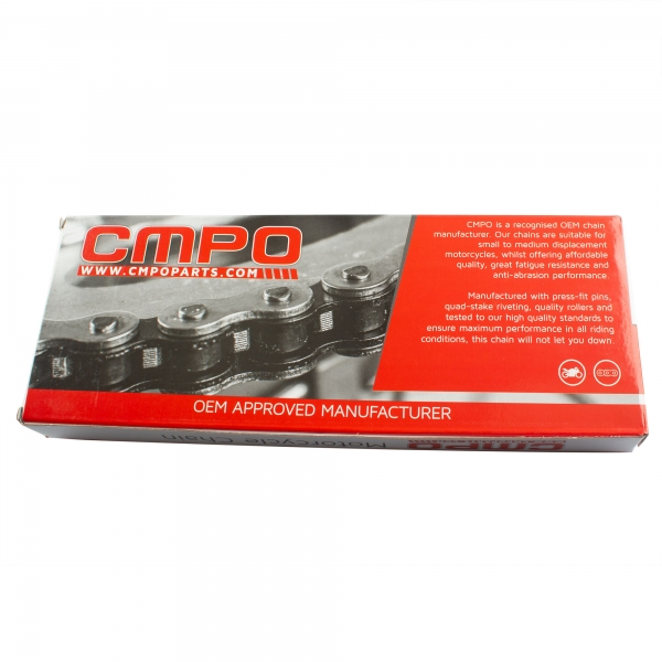 CMPO Motorcycle Drive Chain 520-106 Gold