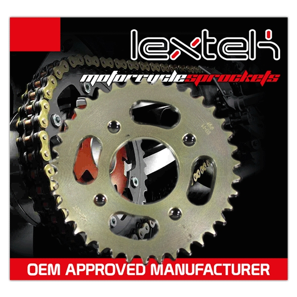 Standard Chain/Sprocket Kit for KS125-23 KS125-24