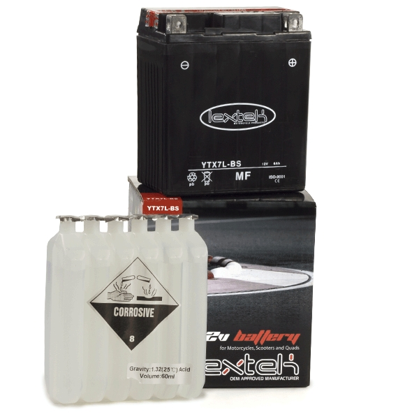 Lextek Wholesale  -  YTX7L-BS Motorcycle Batteries (12 for the price of 10)