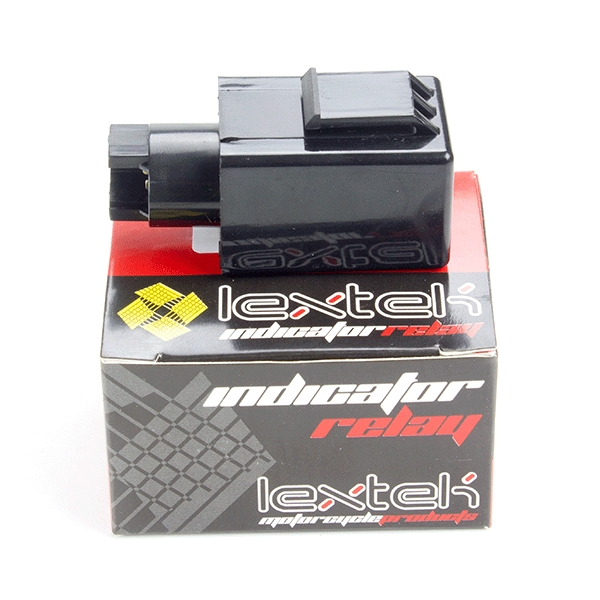 Lextek Indicator Relay Honda 4 pin relay for LED Indicators