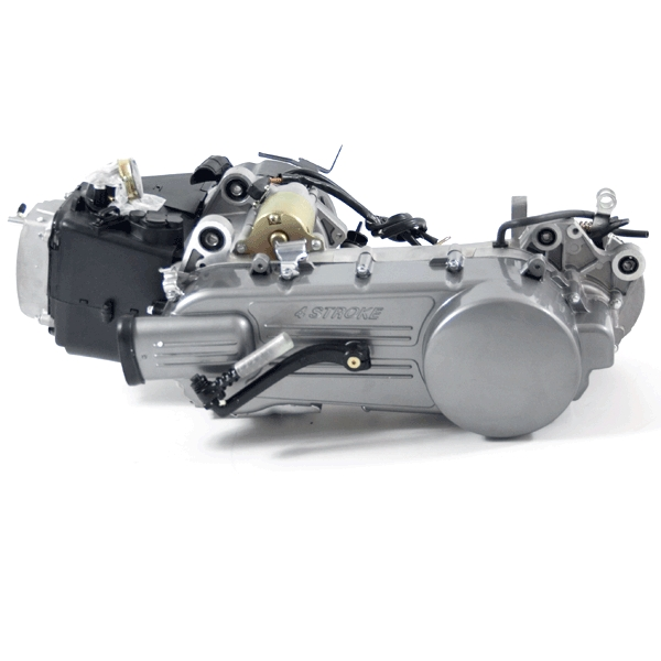 125cc Scooter Engine 152QMI with 450mm Case, Long Shaft
