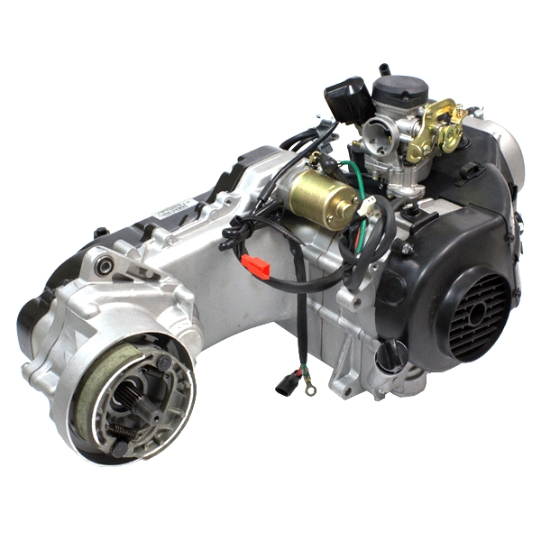 50cc Scooter Engine 139QMB with 400mm Case, Short Shaft