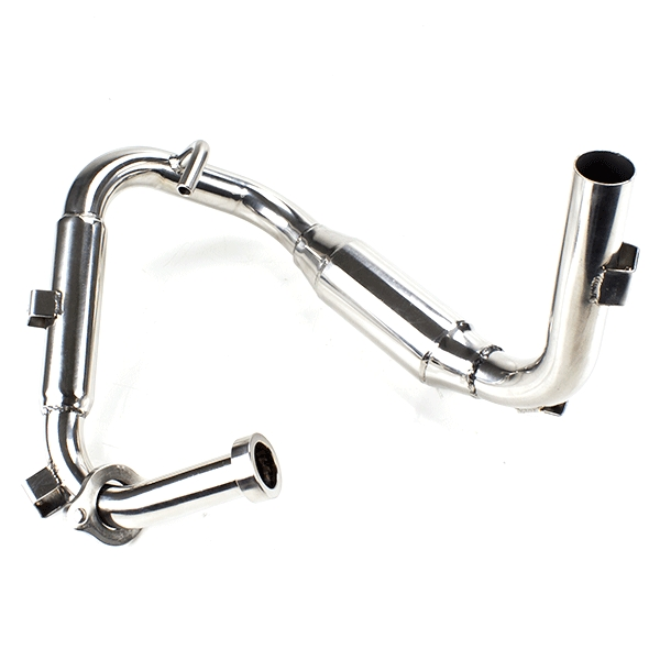 Lextek MP4 S/Steel Megaphone Exhaust System for Yamaha WR 125 R X (09-16)