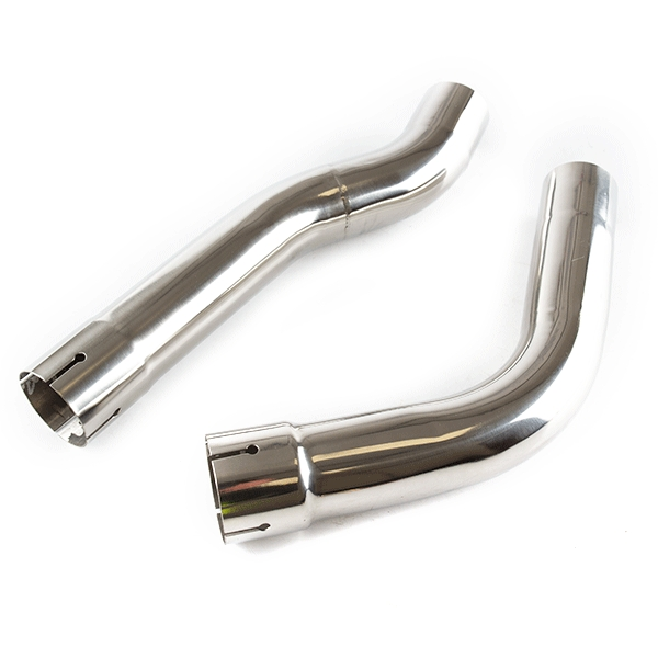Lextek OU1 Matt S/Steel Underseat Exhaust with Link Pipe for Honda CBR600 RR (07-12)