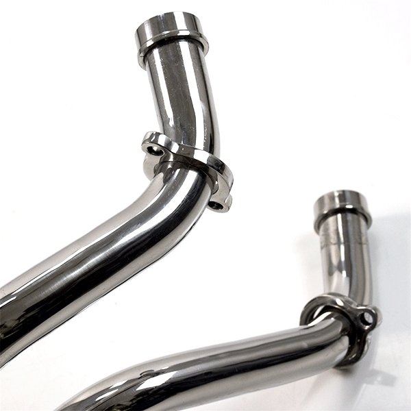 Lextek Stainless Steel Exhaust Downpipe (Pillion Fitment) for Yamaha MT-07 (14-19)