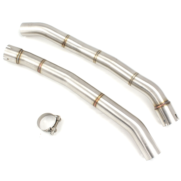 Lextek YP4 S/Steel Exhaust with Link pipe for Kawasaki ZZR1400 (12-19)