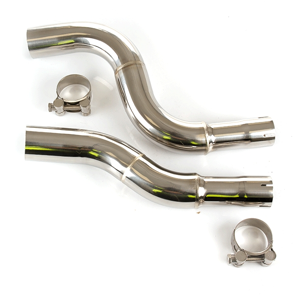 Lextek GP1 Exhaust Kit with Link Pipe for KTM 990 Adventure (06-12) / Adventure R (06-12) /