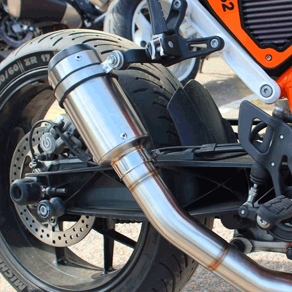Lextek CP1 Matt S/Steel 150S Exhaust Silencer 51mm