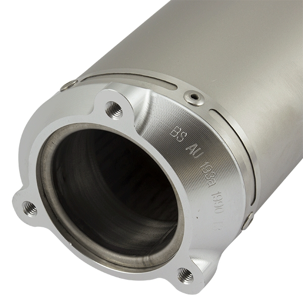 Lextek O31 Matt S/Steel Exhaust Silencer (3 Bolt) Bandit