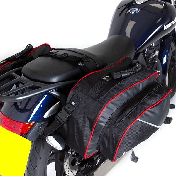 Lextek Motorcycle/Scooter Panniers 50L for Motorcycle