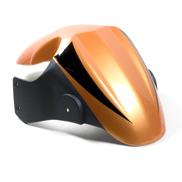 Mudguard (Front) Metallic Orange/Matt Gunmetal
