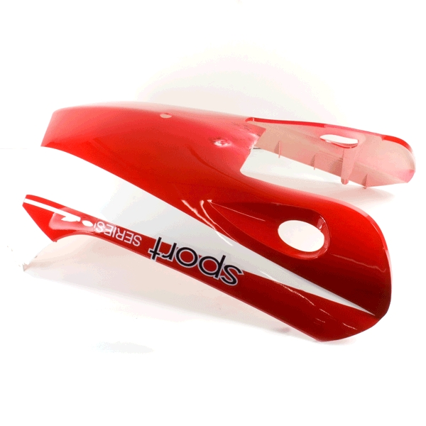 Belly Panel Red/White