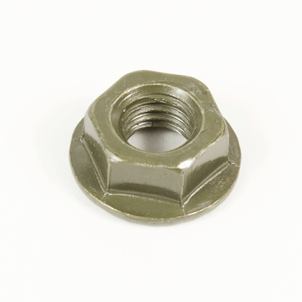 Flanged Hex  Jam Nut M6 10mm