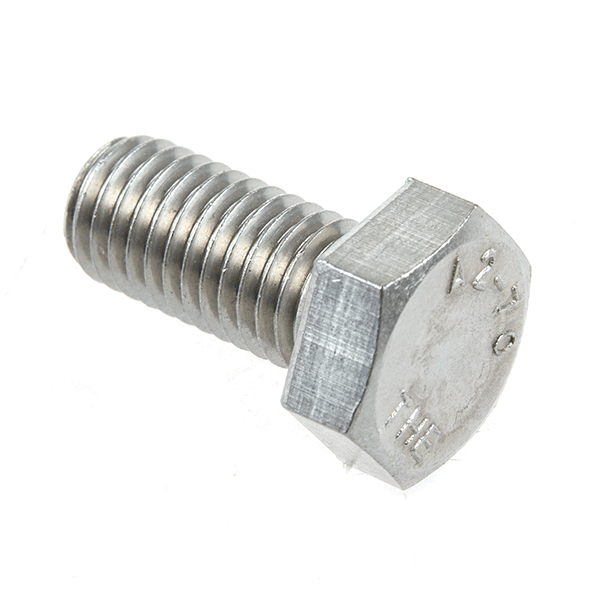 Hex Bolt M12 x 25 Stainless Steel A2