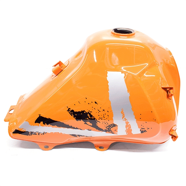 Fuel Tank Solid Orange with Mk2 Decals