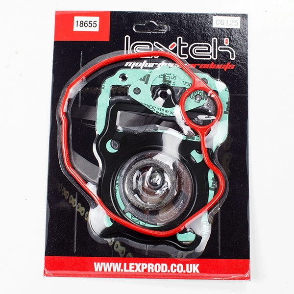 Lextek 125cc Motorcycle Top End Gasket Set 156FMI 157FMI