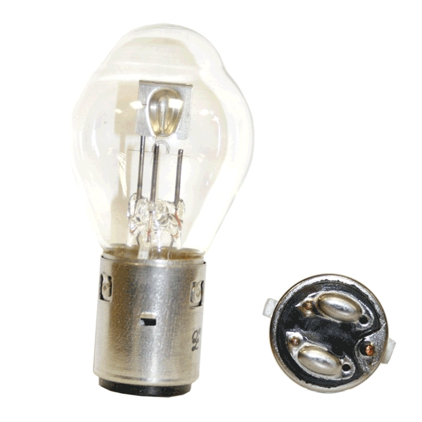 Headlight Bulb BA20D 25w
