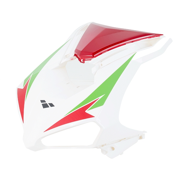 Headlight Panel White/Red for ZN125T-34
