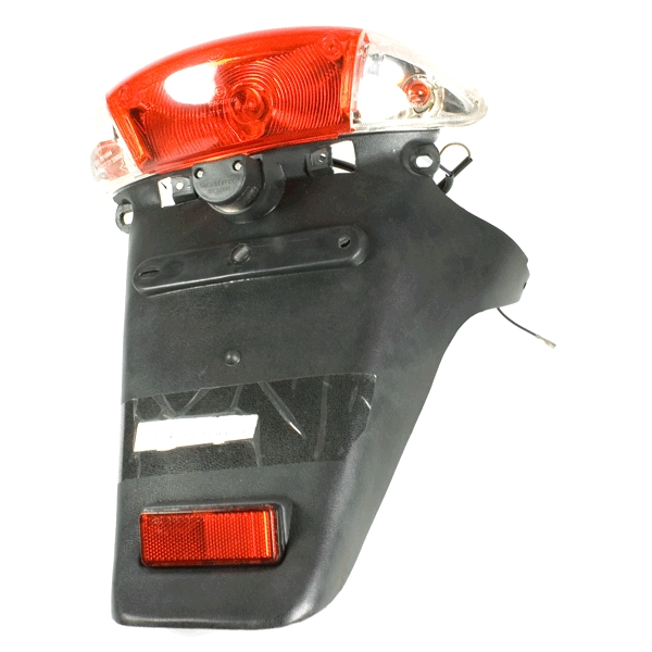 Tail Light Assembly (with Rear Mudguard) Female Clear Lens