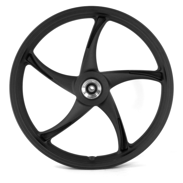 Front Wheel 17x1.85 Black (Disc Brake)