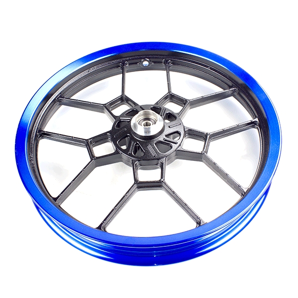 Front Wheel 17x2.15 Black/Blue (Disc Brake) for ZS125-48F