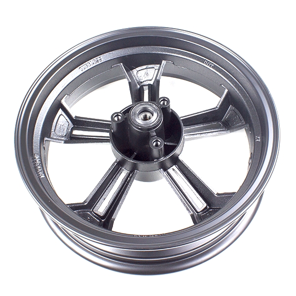 5 Spoke Front Wheel 13x3.50 Black (Disc Brake)