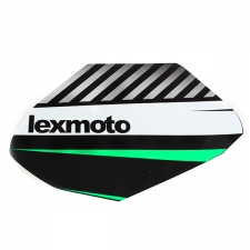Green Black Right Fuel Tank Sticker