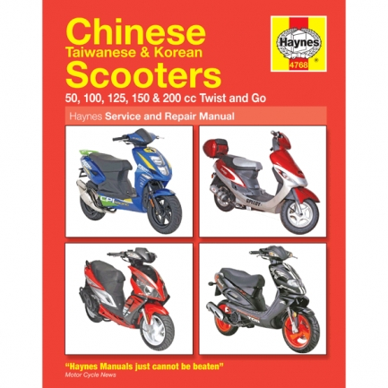 haynes chinese scooter service repair manual 4768. Black Bedroom Furniture Sets. Home Design Ideas