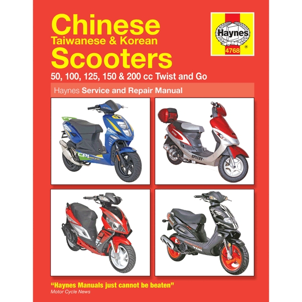 haynes chinese scooter service repair manual 4768 h4768 cmpo haynes chinese scooter service repair manual 4768 h4768 cmpo chinese motorcycle parts online