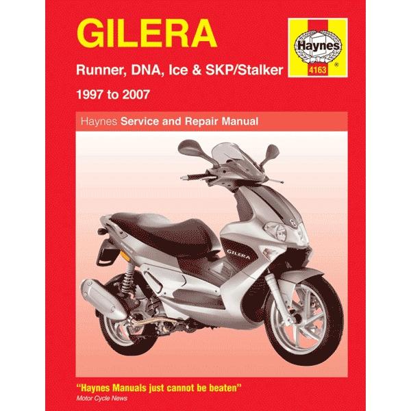 haynes manual 4163 for gilera runner dna ice skp stalker 97 07 rh chinesemotorcyclepartsonline co uk gilera runner vxr 180 service manual Gilera Runner 180 Trobling Shooting