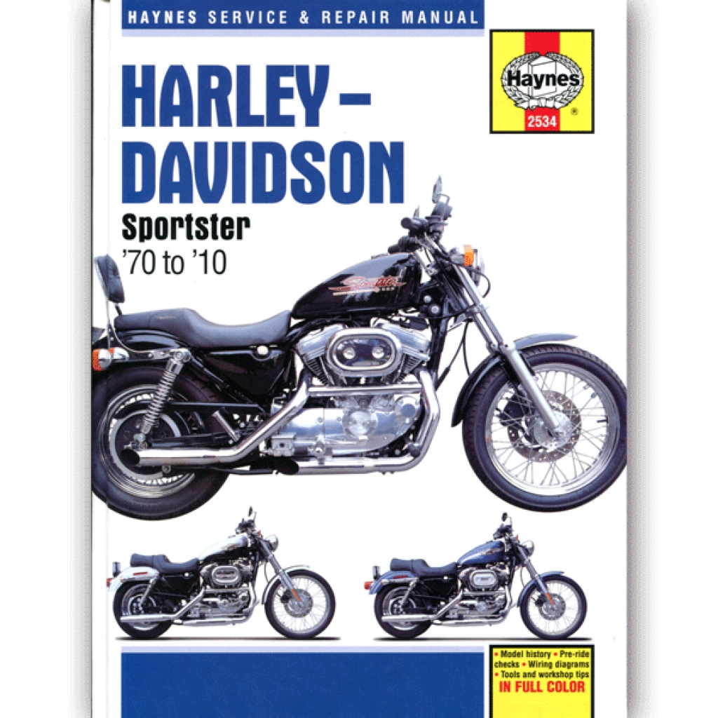Haynes Manual 2534 For Harley Davidson Sportsters 70 10 Hynm023 Cmpo Chinese Motorcycle Parts Online