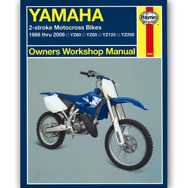 Europe 1986-2001 Manuals Haynes Each Yamaha YZ 80