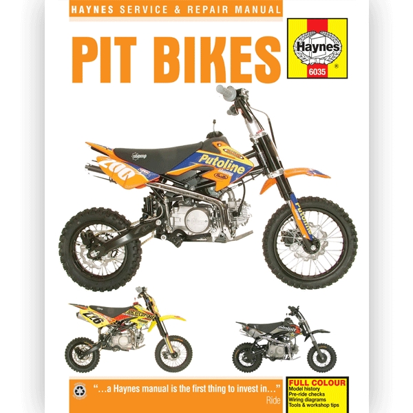 haynes manual 6035 for pit bikes - h6035 | cmpo | chinese motorcycle parts  online