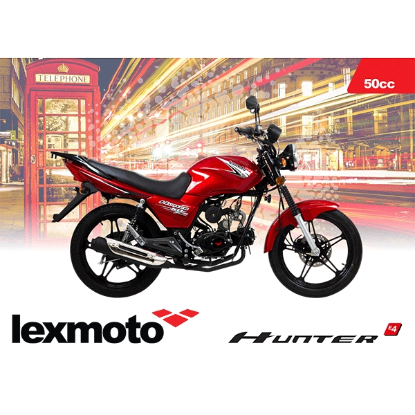 A6 Lexmoto Hunter E4 Flyer