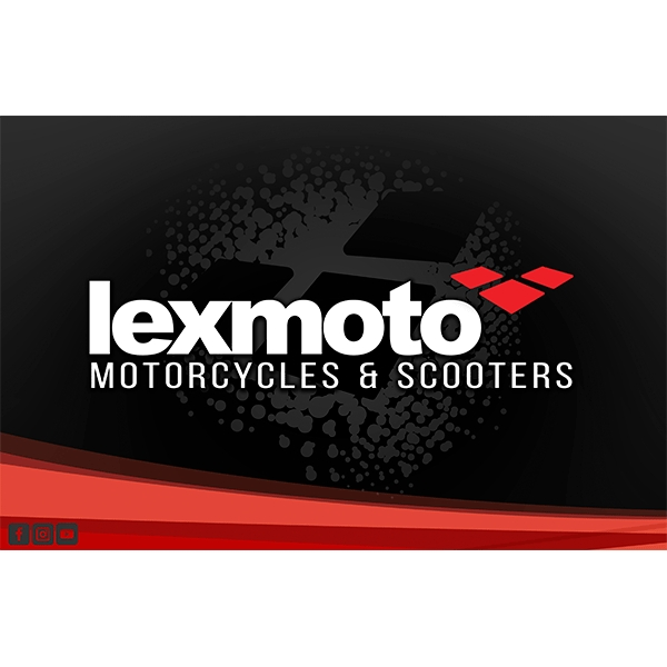 Lexmoto Window Stickers A3