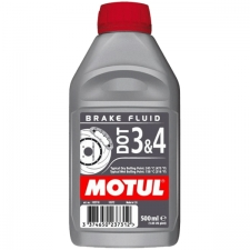 Motul DOT 3 And 4 Synthetic Brake Fluid 500ml