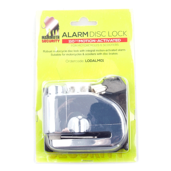 Mammoth Alarm Disc Lock