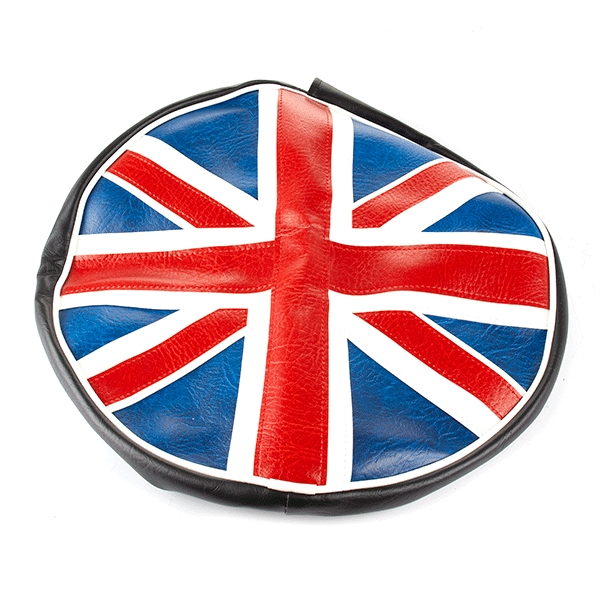 Lexmoto Red / White / Blue Union Jack Protective Spare Tyre Cover (tyre Size 43 for FT125T-27-E4