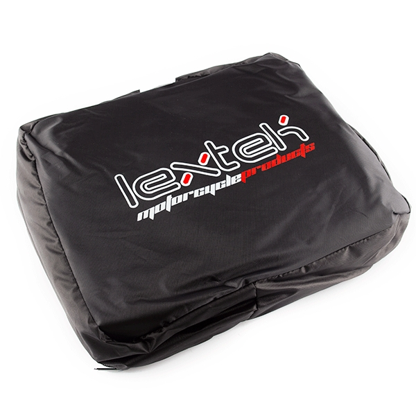Lextek Motorcycle/Scooter Cover Black / Red
