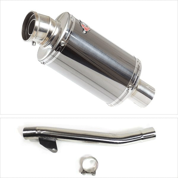 Lextek OP15 Exhaust Kit with Link Pipe for Suzuki GSF 600 Bandit (95-06)