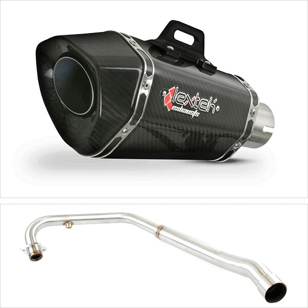Lextek XP8C Exhaust System for Lexmoto ZSX-R 125